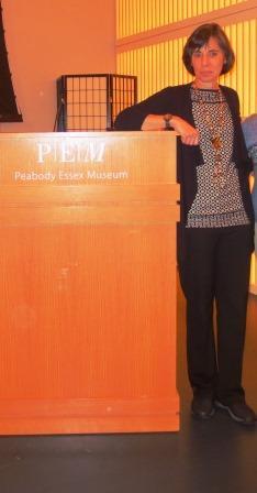 Prof Jenny Rose's presentation in Salem, MA