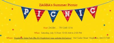 ZAGBA Summer Picnic