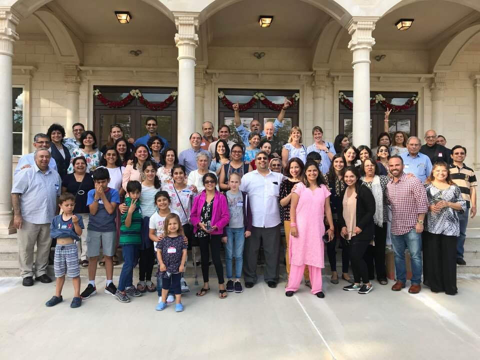 Children and parents of ZAGBA (zoroastrian association of greater Boston area) who attended the annual joint religious class event at ZAGNY on September 15, 2019