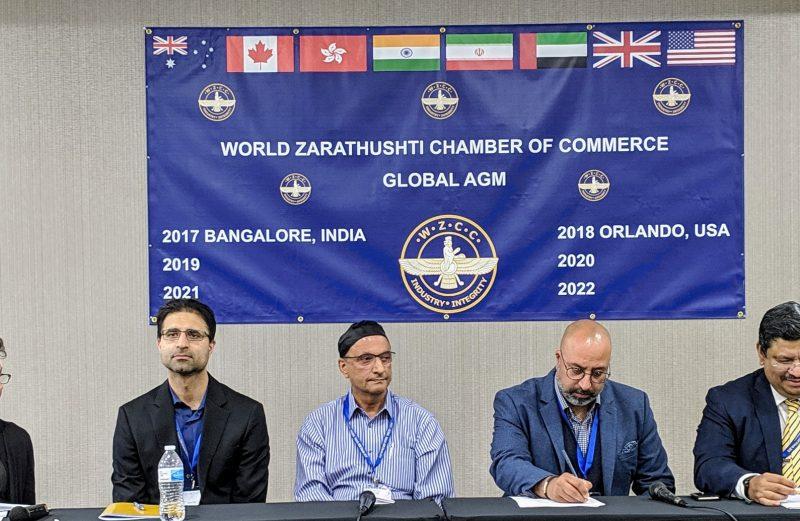 Daryush Mehta at the WZCC AGM & Global Meet